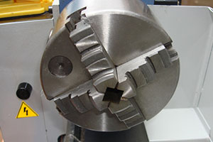 Steel 4 jaw chuck for optional