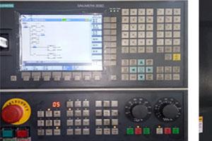 GSK, Fanuc, Siemens controller as optionalselection