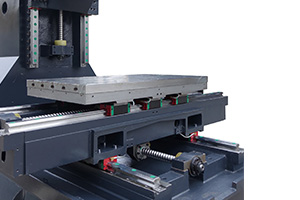 High precision axis feed system
