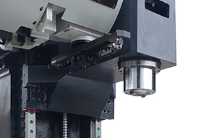 High rigidity speed spindle
